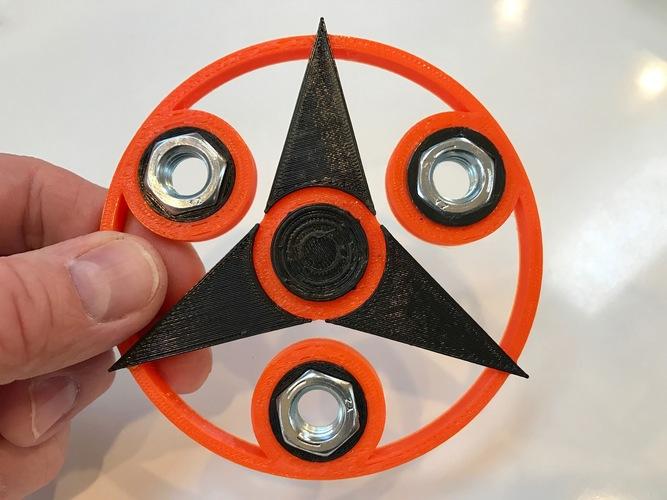 Tri-Star Fidget Spinner