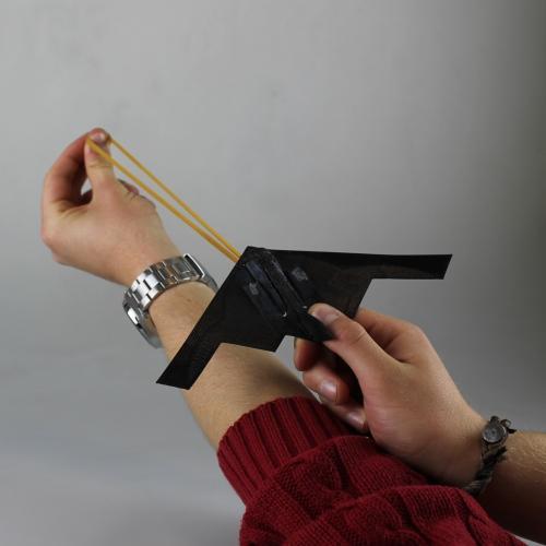 Glider rubber band