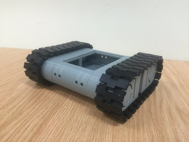 3d pritned Tank