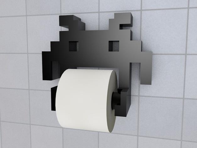 Space Invader TP holder