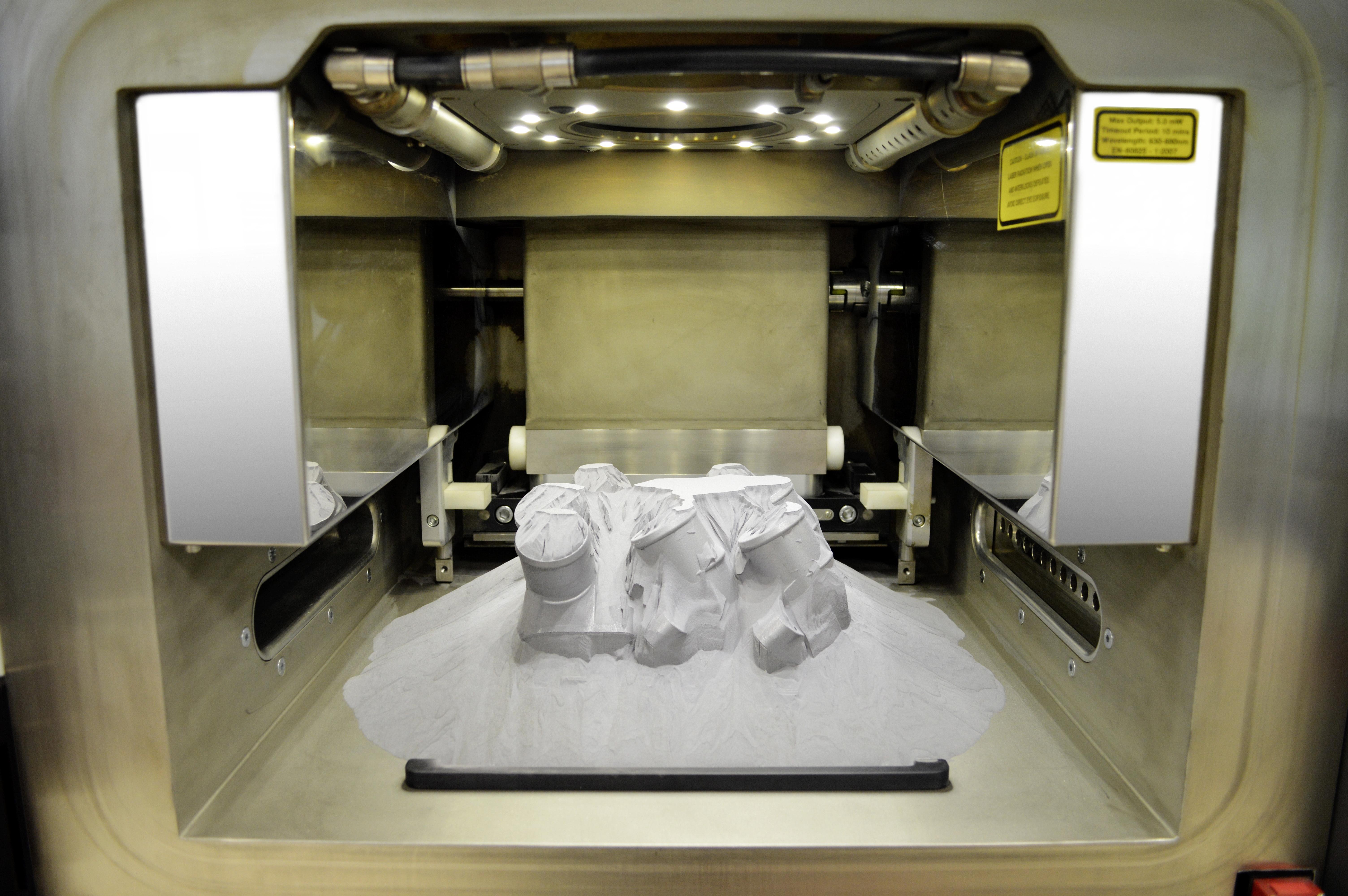 3D prints first metal spare part