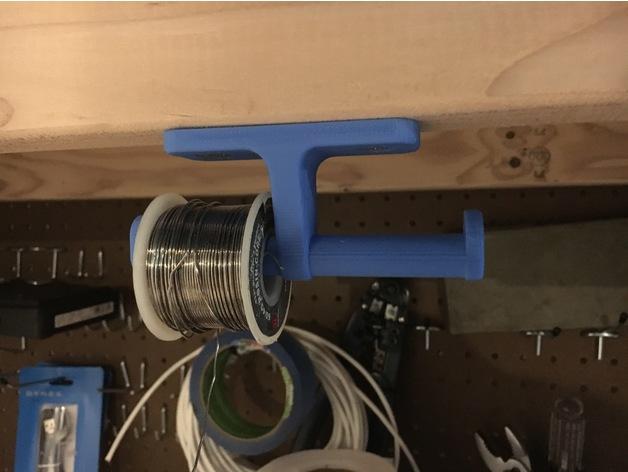 3D Printed Solder Hanger