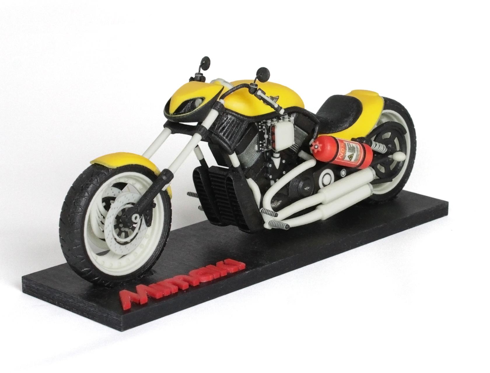 Mimaki 3duj-553 Motorcycle