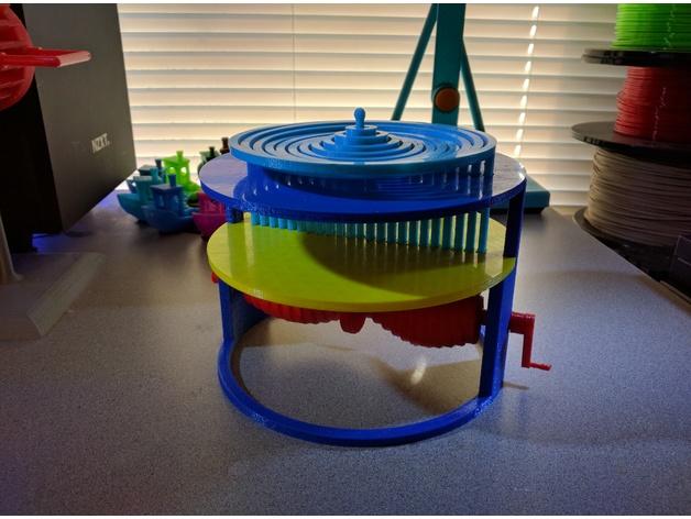 Water Kinect Thingiverse