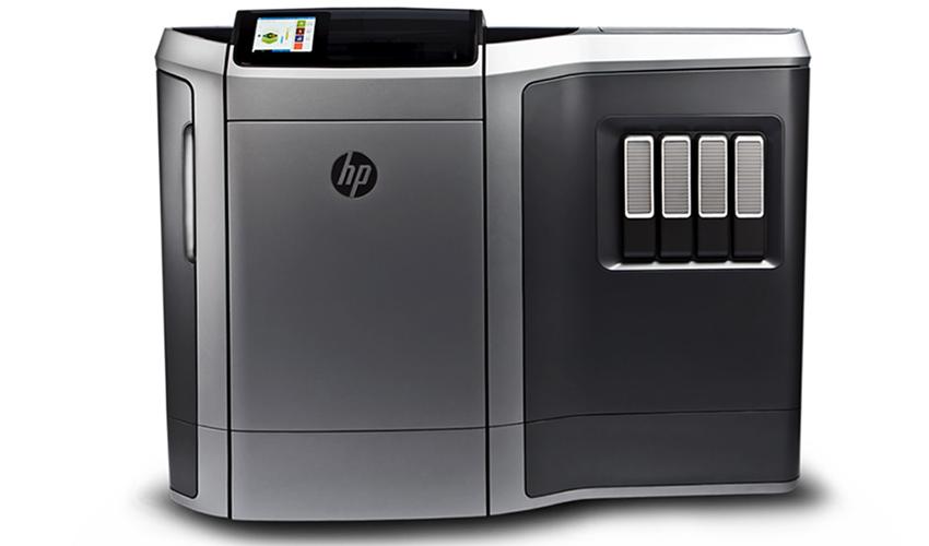 Metal 3d printing by HP