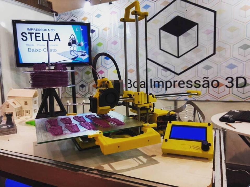 Stella Boa Impressão 3D