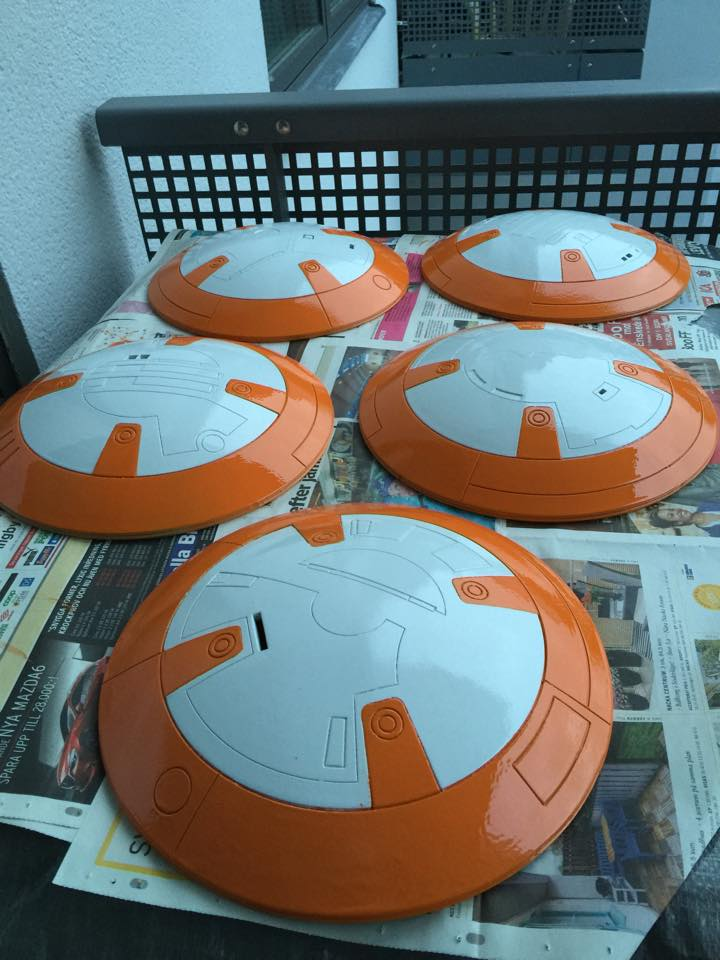 5panels - BB-8 Model