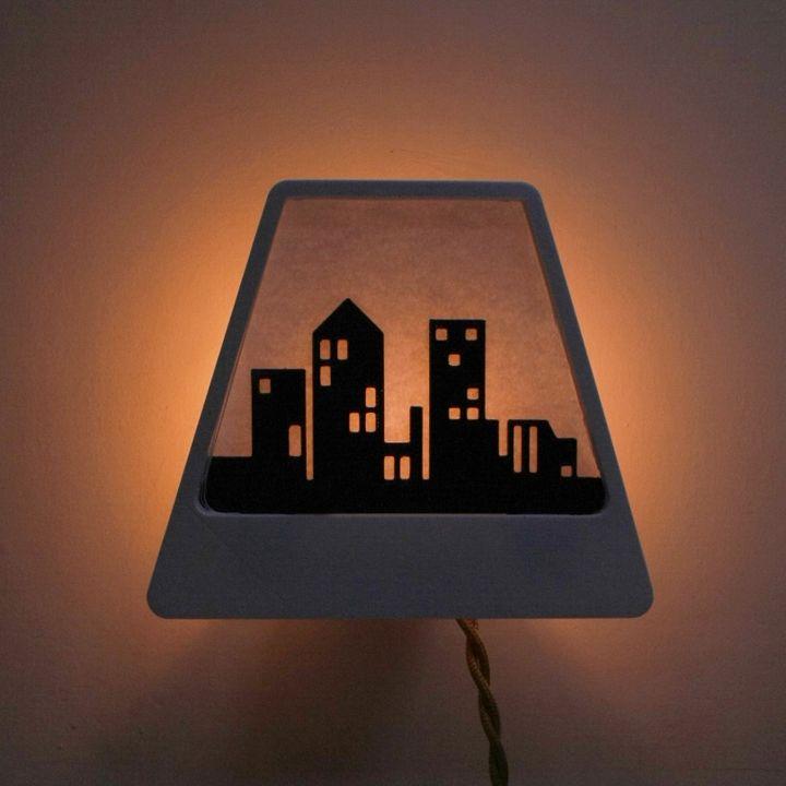 Polaroid Lamp