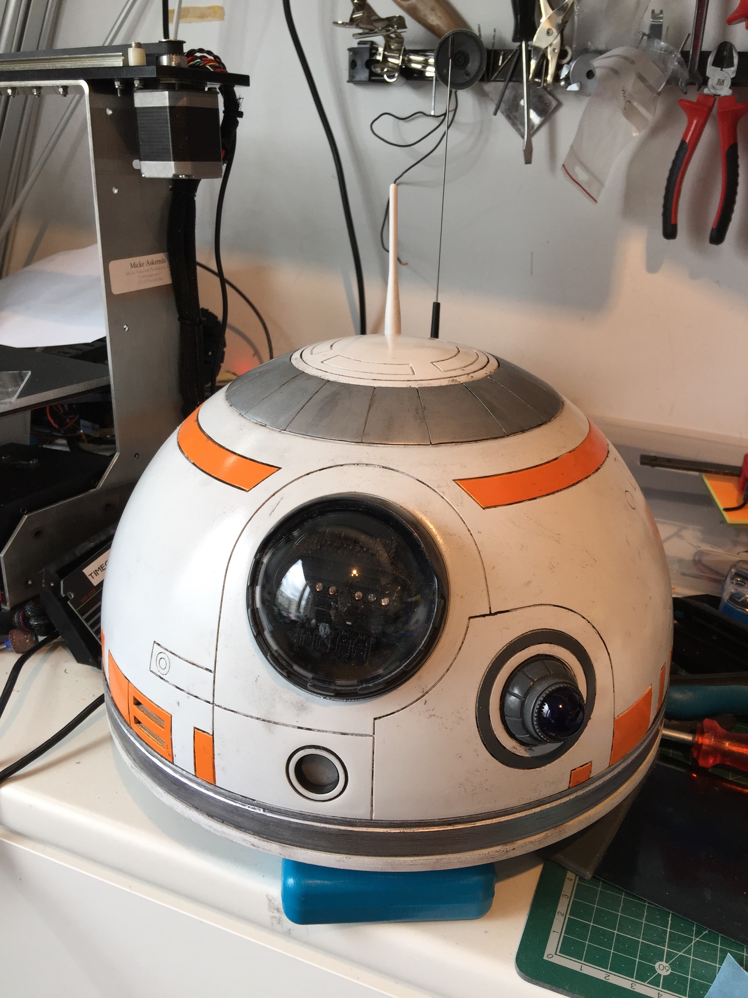 BB-8 Dome complete
