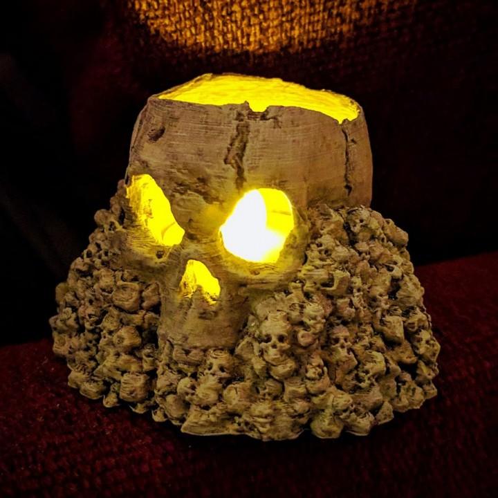 Lamps Multitask Skull