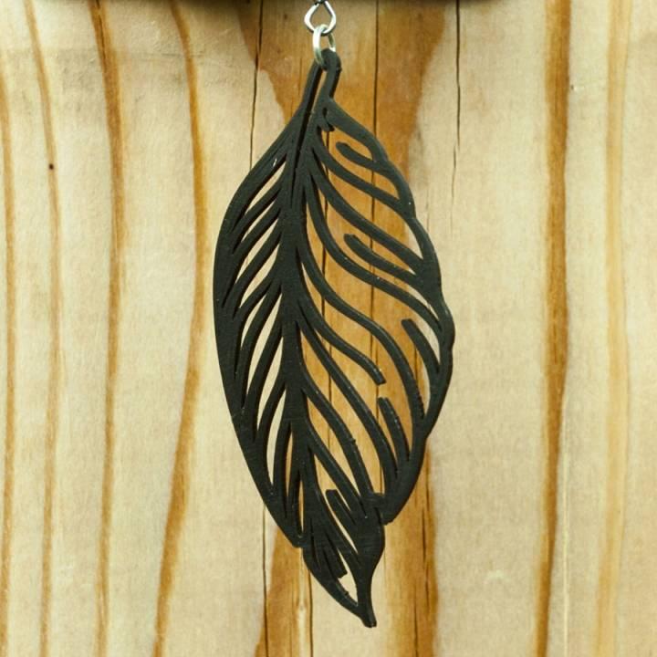 Feather Earring 2 Jewellery