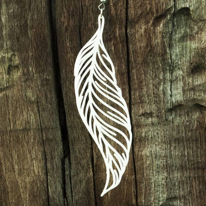 Feather Earring 1 Jewellery