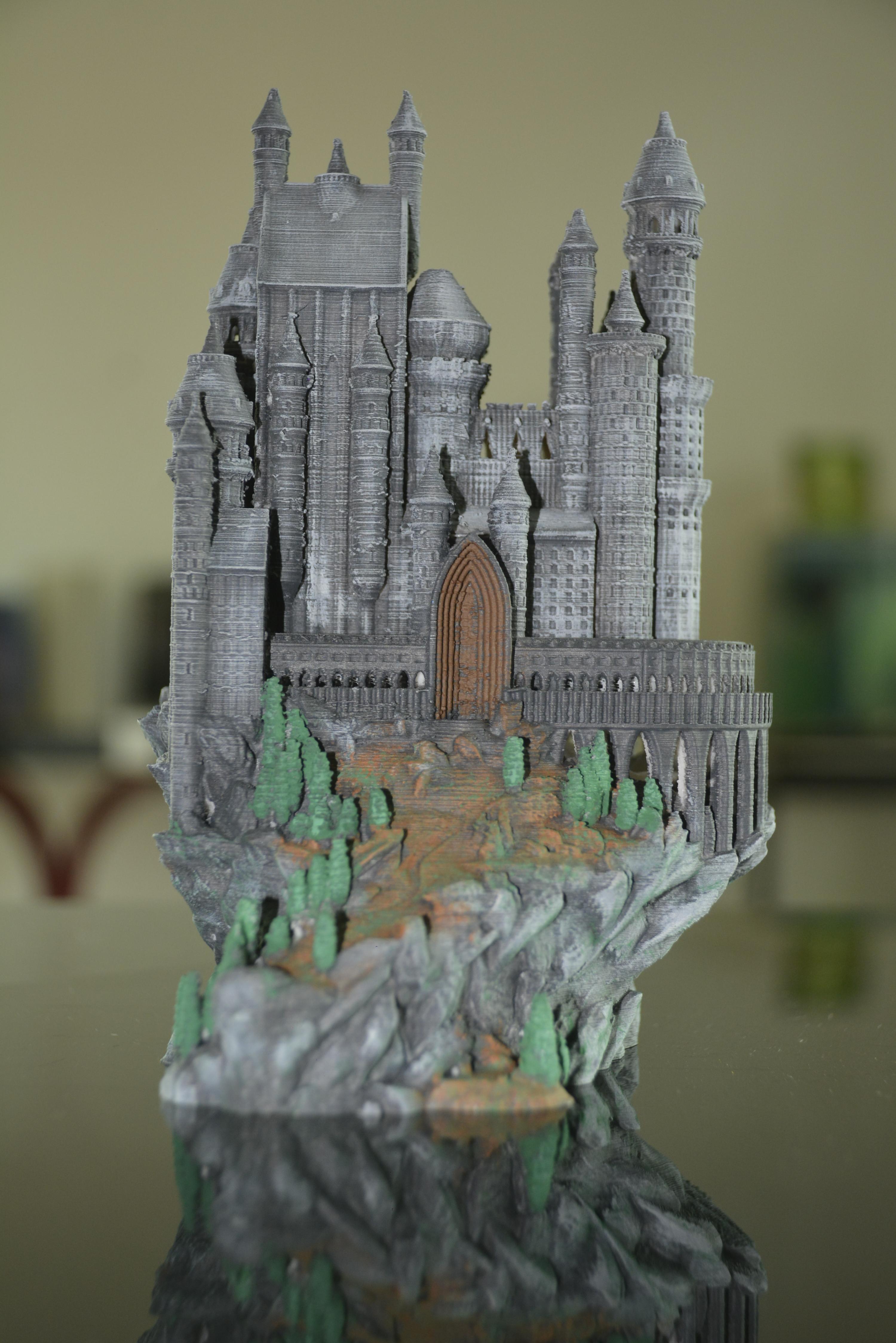 Castle printer with CreatorDuo