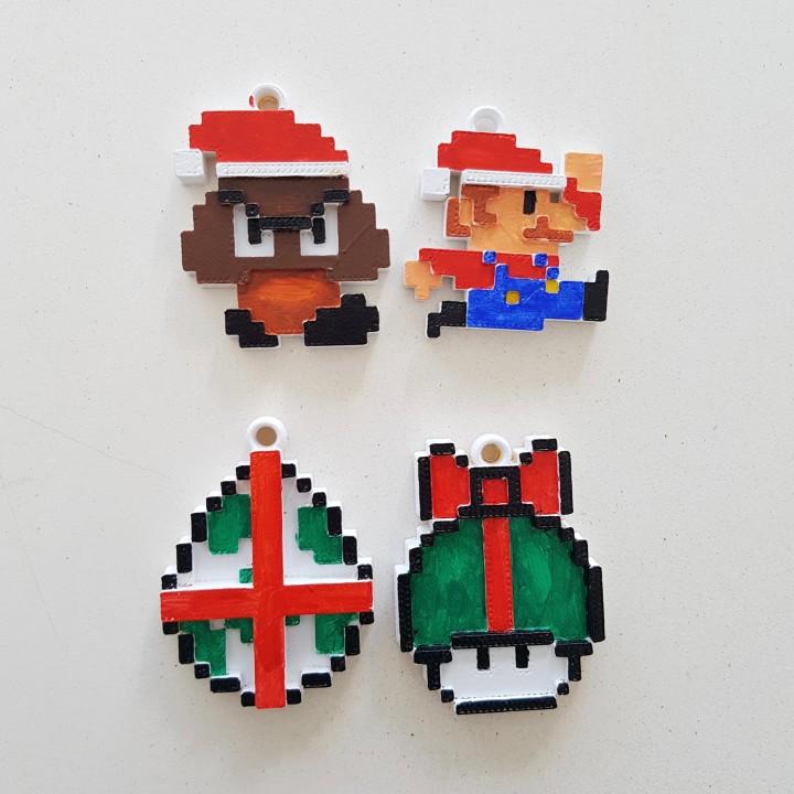 Mario 8Bit Christmas