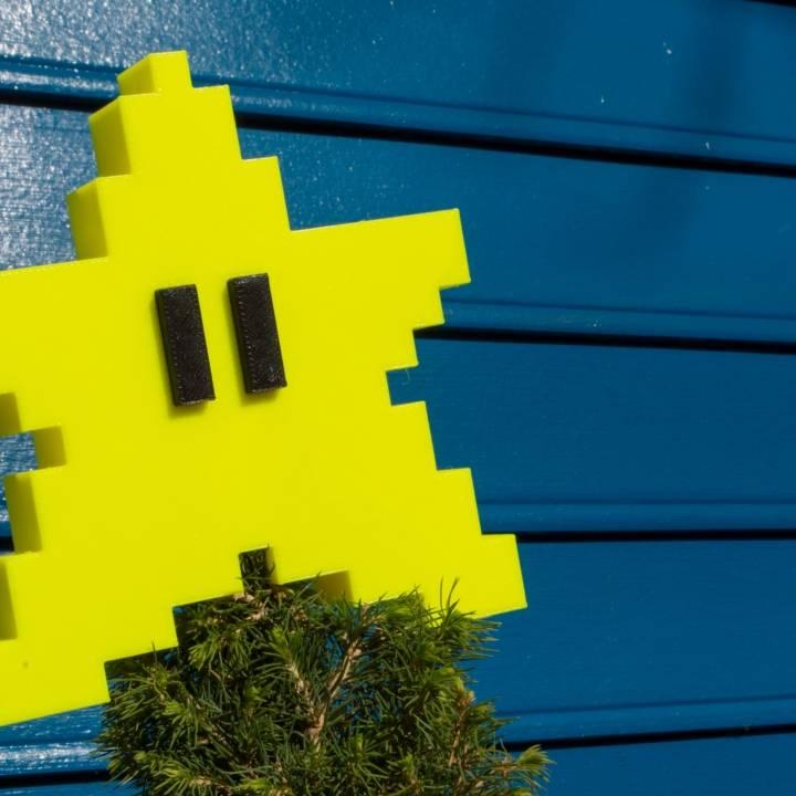 Mario Bros Star Tree Topper