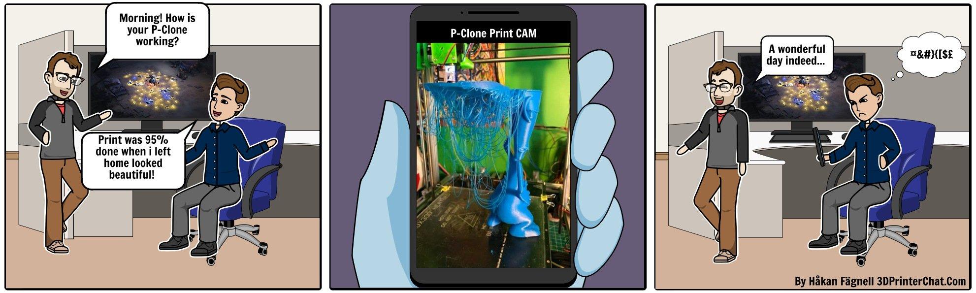 Failed 3D Prints