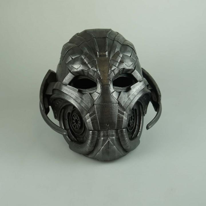 Ultron's Helmet MyMiniFactory