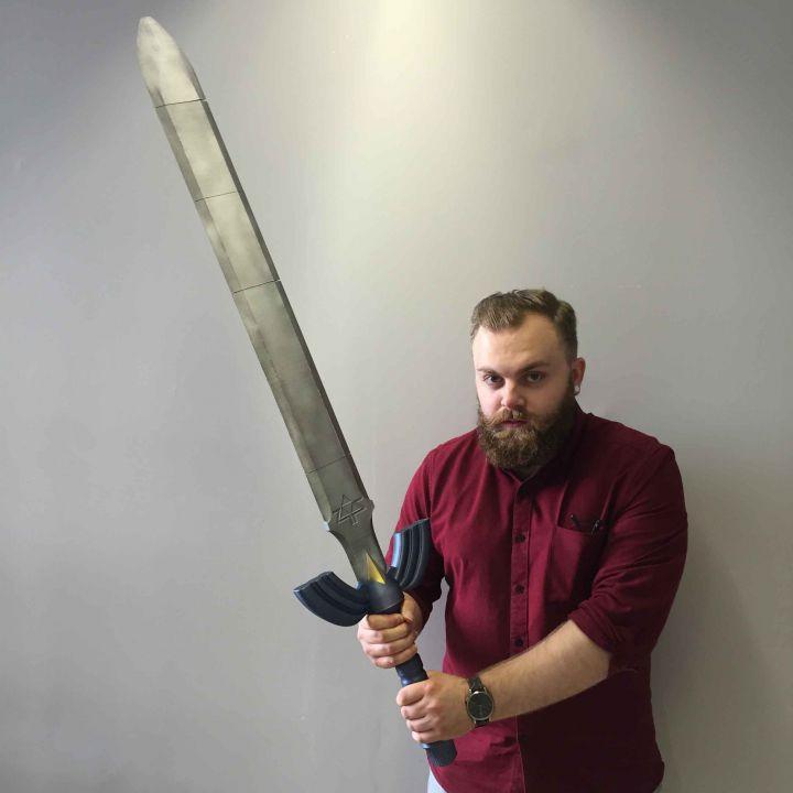 Zelda Master Sword MyMiniFactory