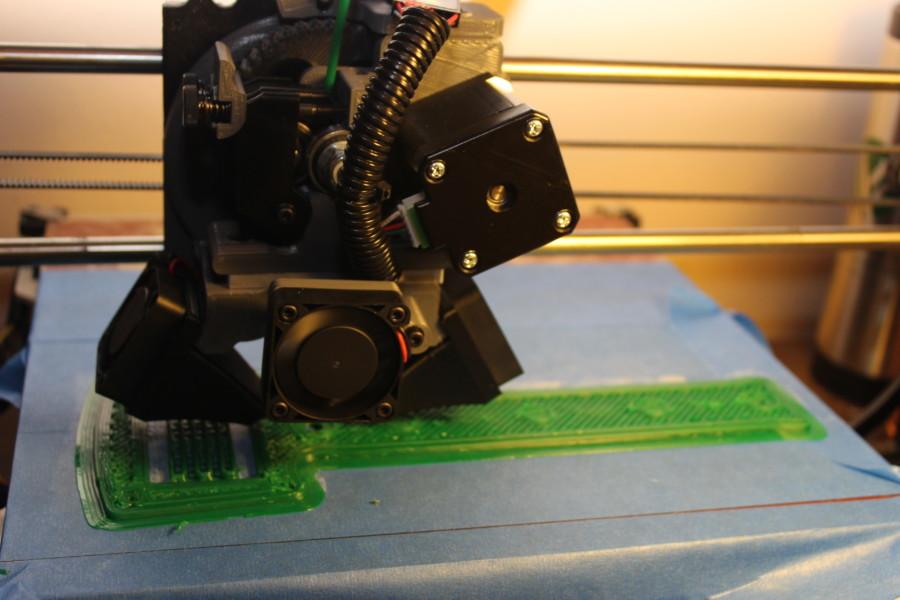 MOAR strudenr printing a mallet
