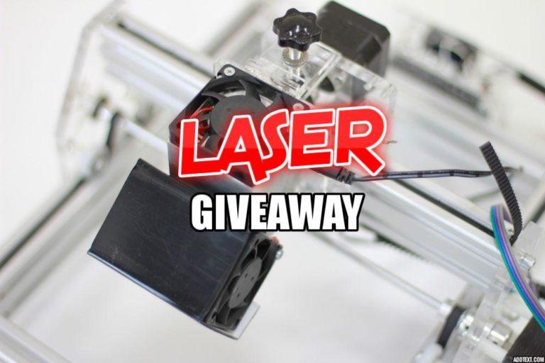 Endurance Lasers are giving away 8 Watt and 5.6 Watt lasers