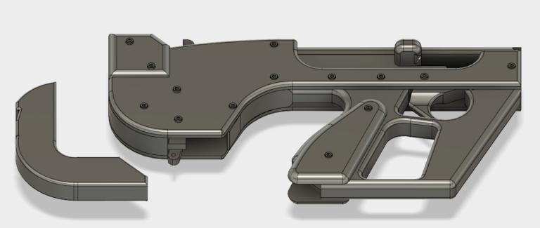 3d Print a Rubber band gun
