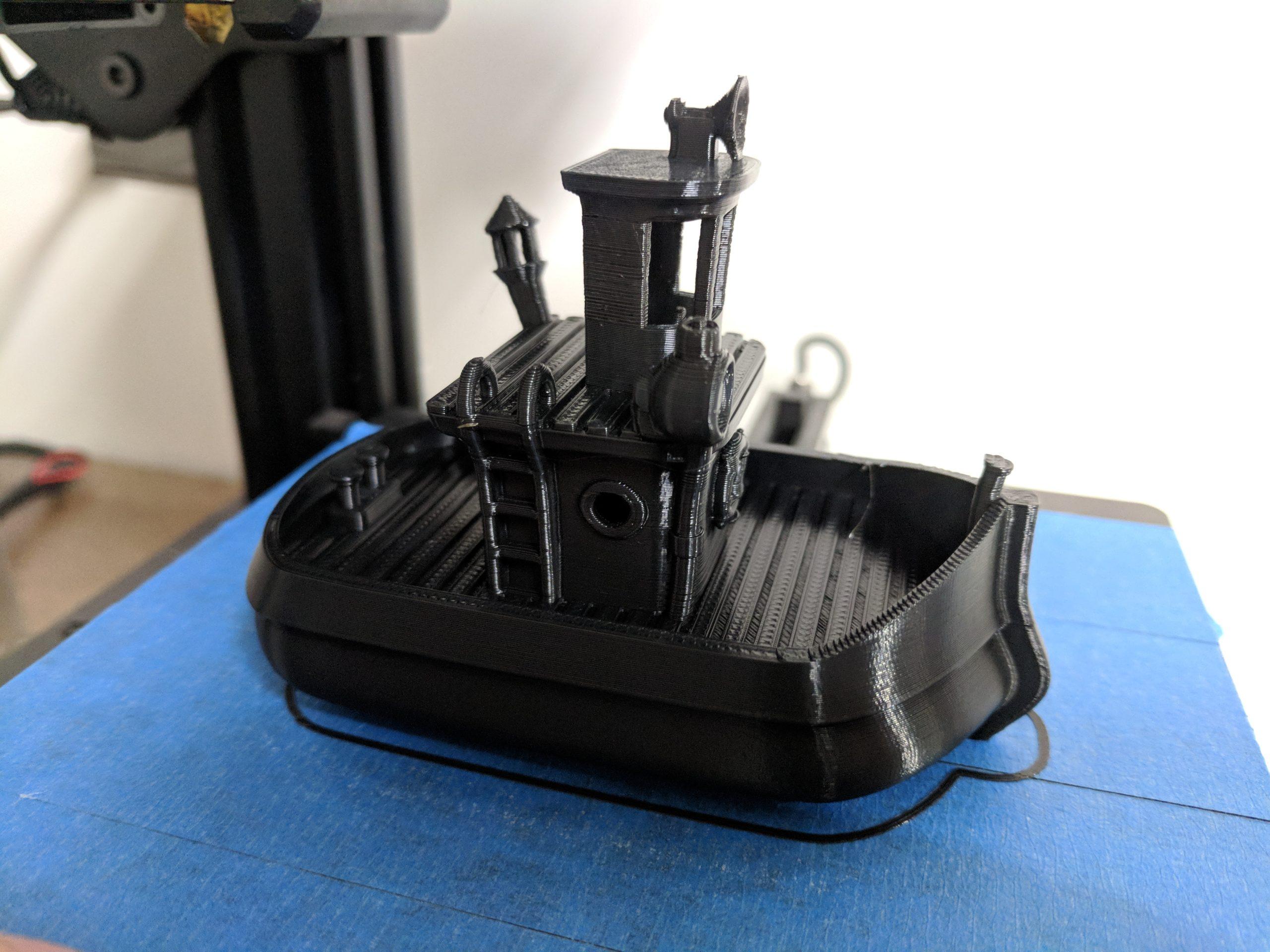 Tevo Michelangelo Boat Test 1