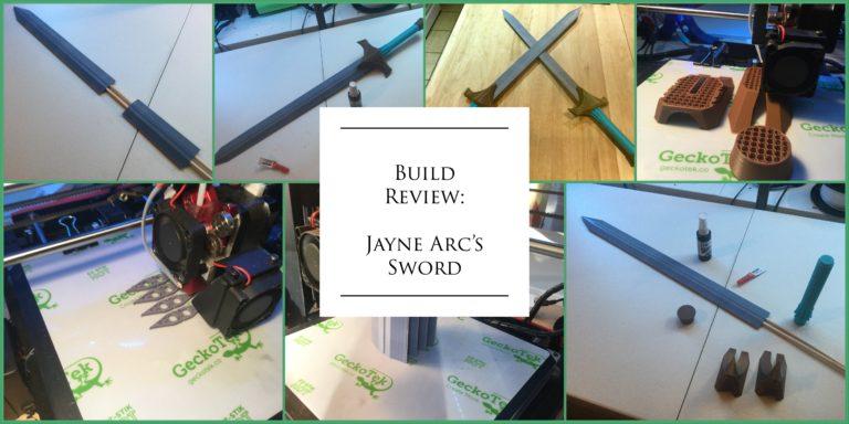 Build Review:  Jaune Arc's Sword from Season 4
