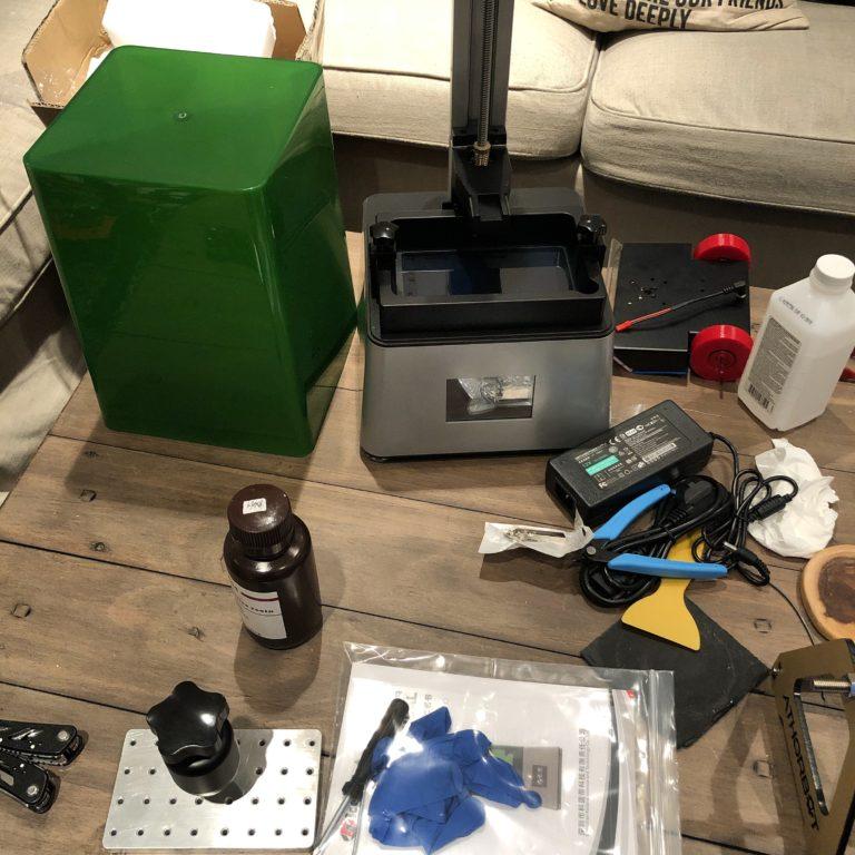 Kelant Orbeat D100 Resin 3D Printer First Impressions