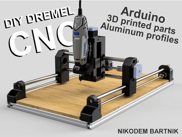 Turn a Broken 3d printer into a working CNC