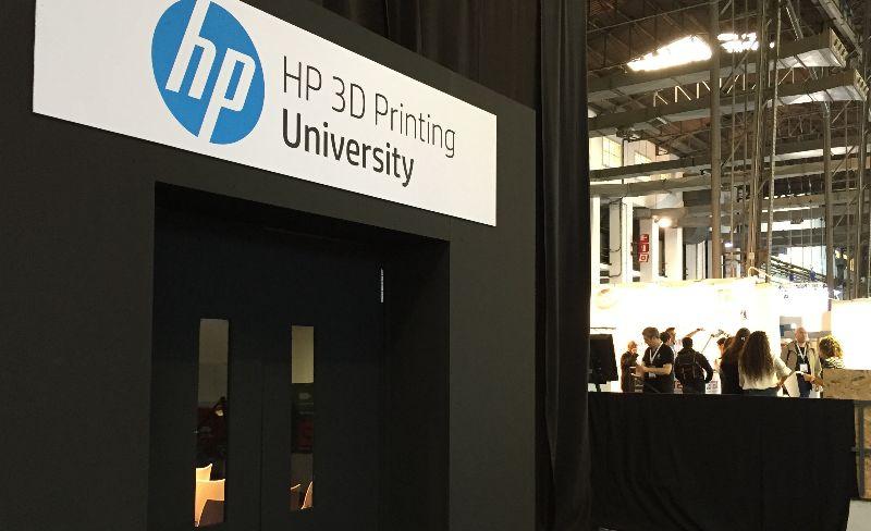 HP 3D printing University
