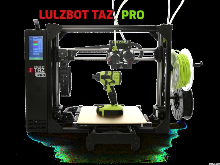 New LulzBot TAZ Pro industrial desktop 3D printer