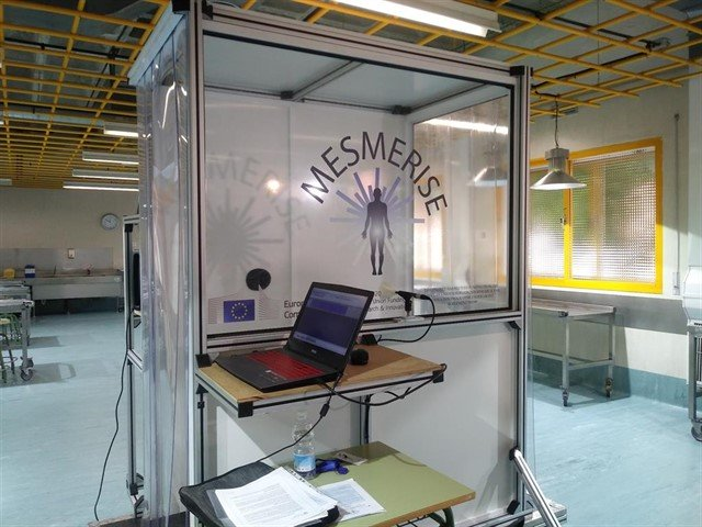 3d scanning system Mesmerise technology
