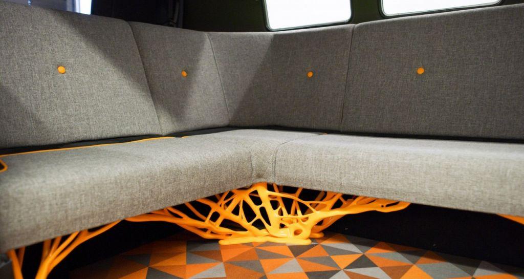 Volkswagen T2 electric interiors