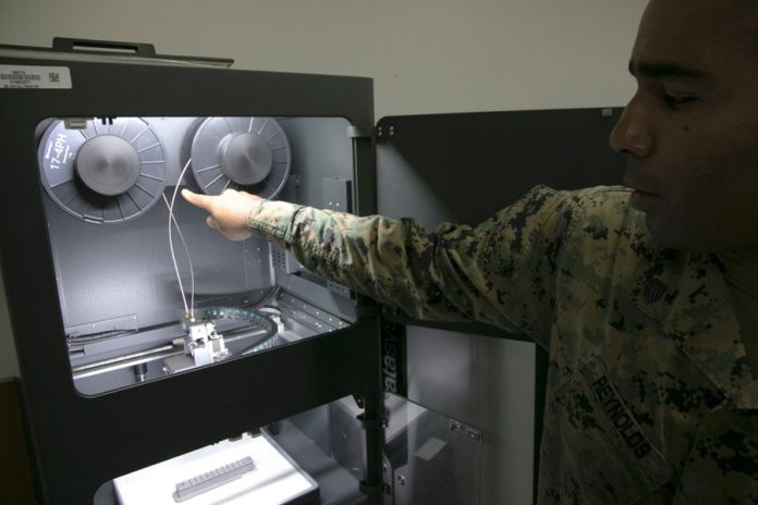Okinawa Marines gets newmetal 3D printer