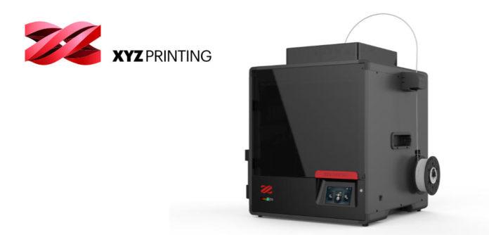 XYZ printing showed off the da Vinci Color 5D at CES 2020