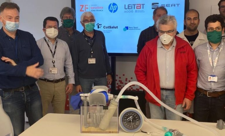 Leitat presents first medically validated, industrialized 3D printed ventilator