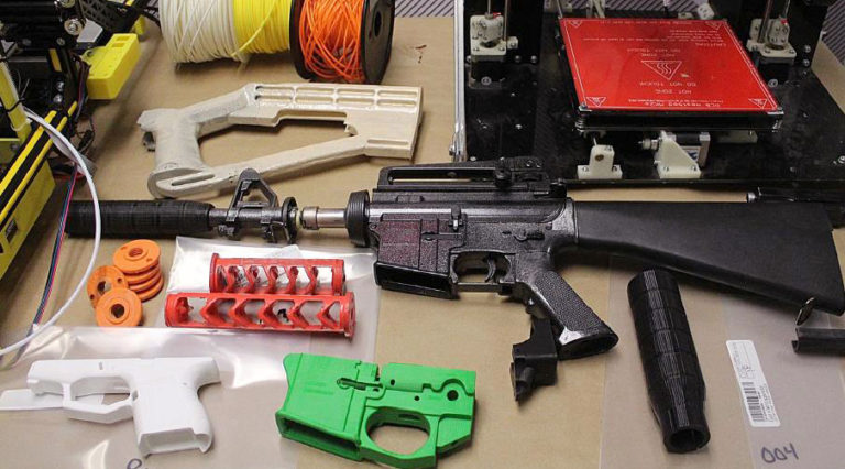 Man Charged for 3D-Gun Parts