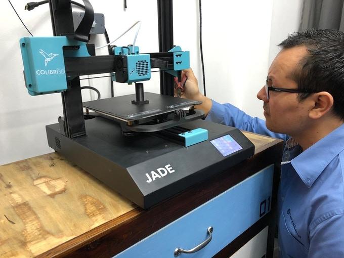 JADE 3D Printer - testing phase